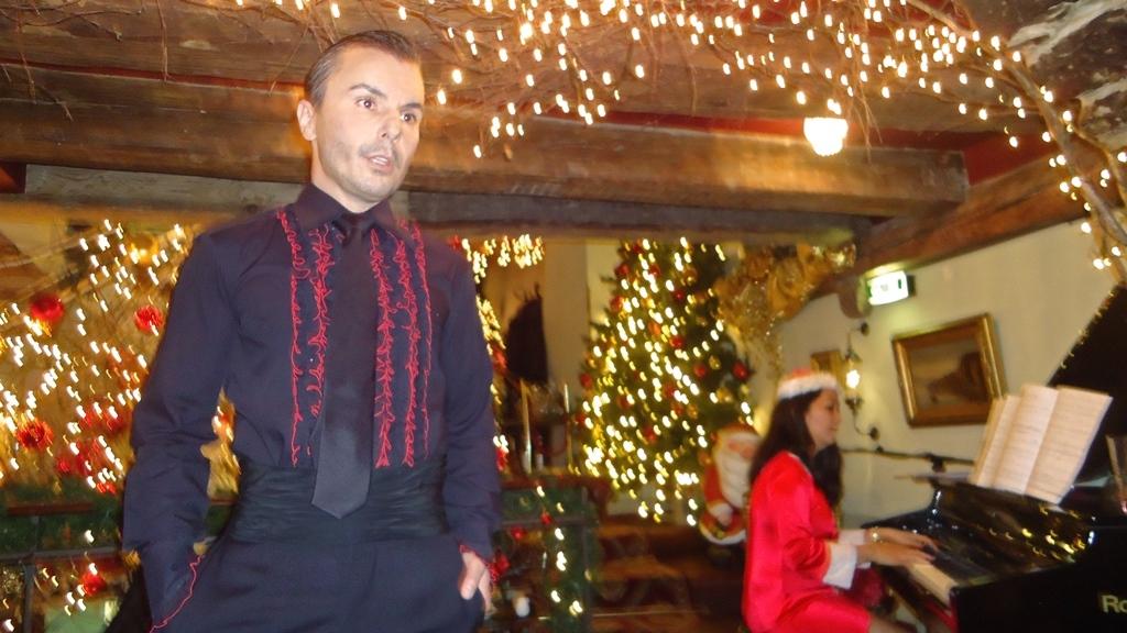 Weihnachtskonzert im Caféhaus Schober Péclard, Zürich mit Al