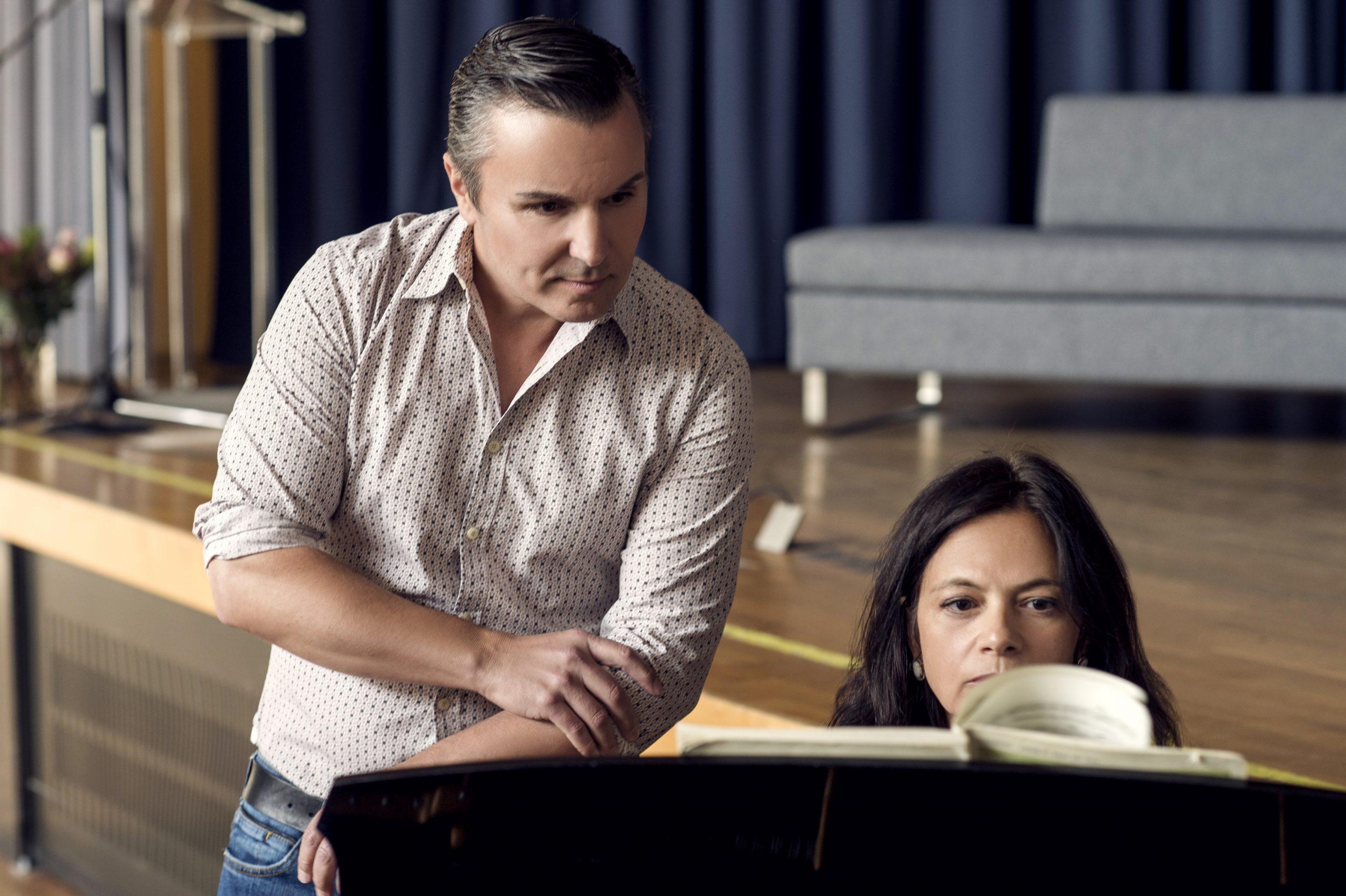 Schumann Liederkreis op. 24, Alessandro und Irina Daniluk. Palli